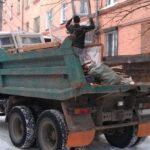 Вывоз мусора со стройплощадки