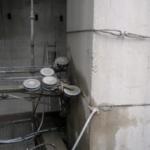 Алмазная резка стенорезной канатной машиной