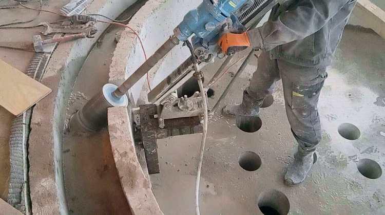 Сверление отверстий под углом