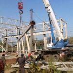 Демонтаж металлических промышленных конструкций