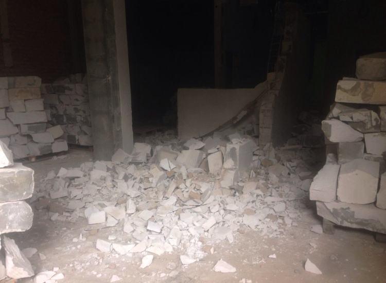 Демонтаж внутри зданий