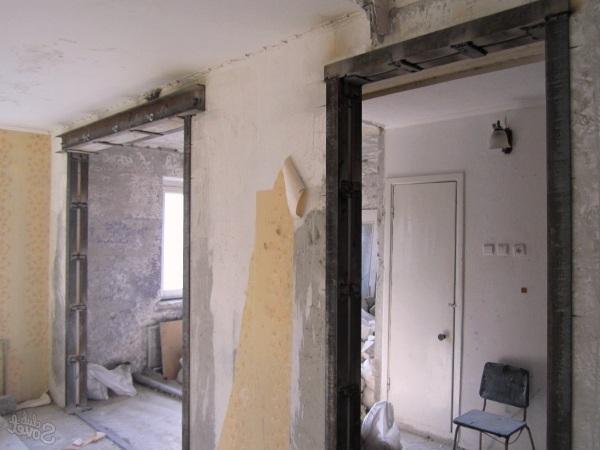 Проемы в несущих стенах