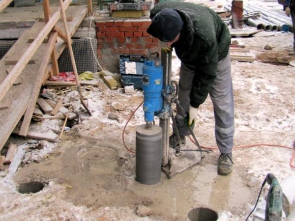 Бурение в бетоне