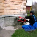 Алмазное бурение отверстие в бетоне