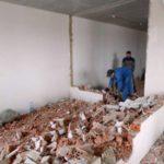 Сколько стоит демонтаж стен